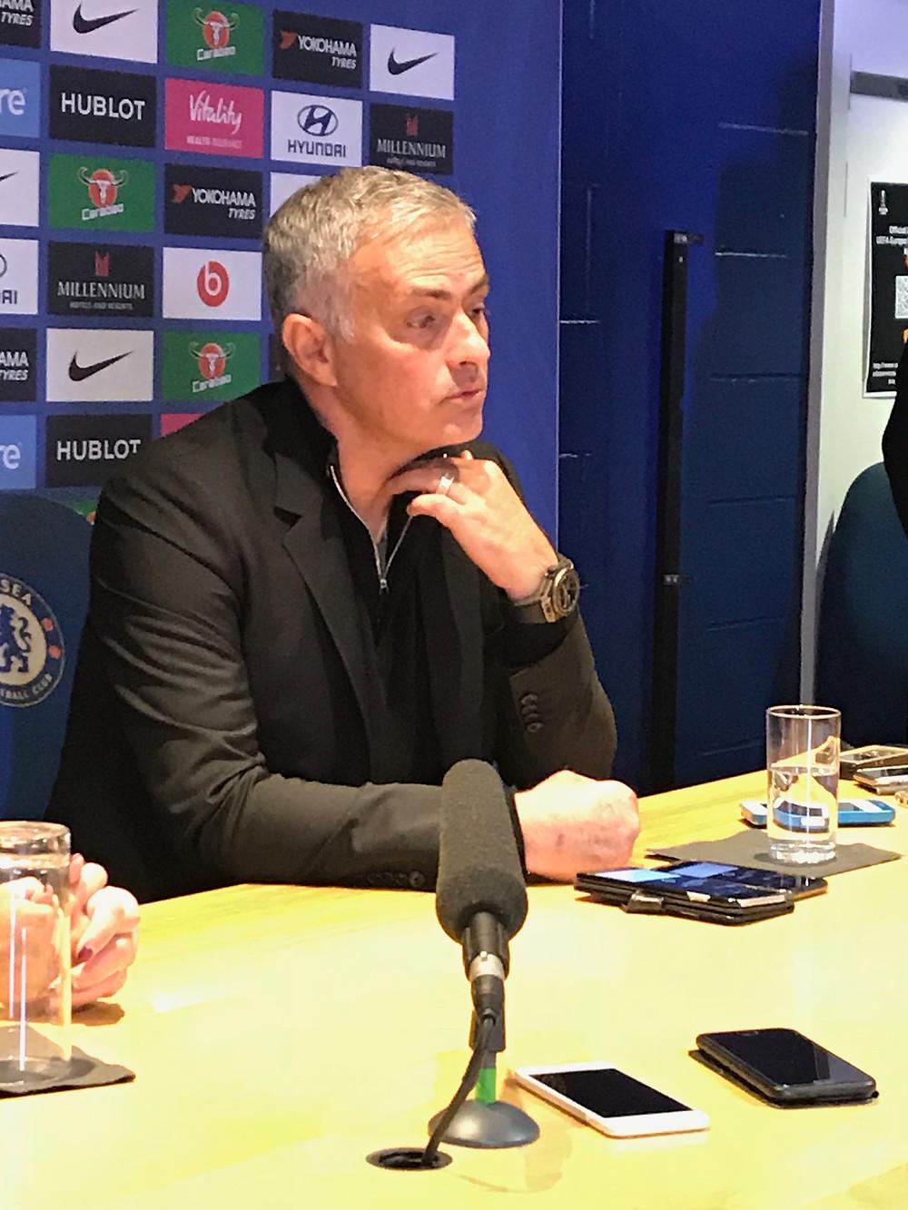 Jose Mourinho Photo by Paul Lagan