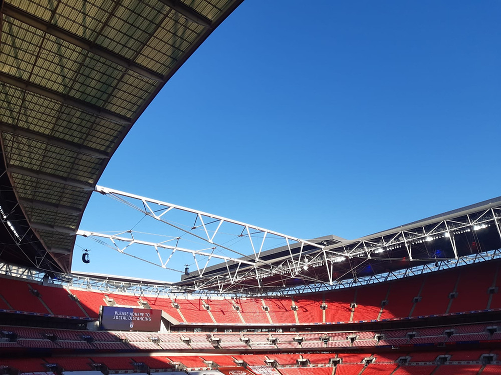 Wembley Stadium Photo: Yann Tear