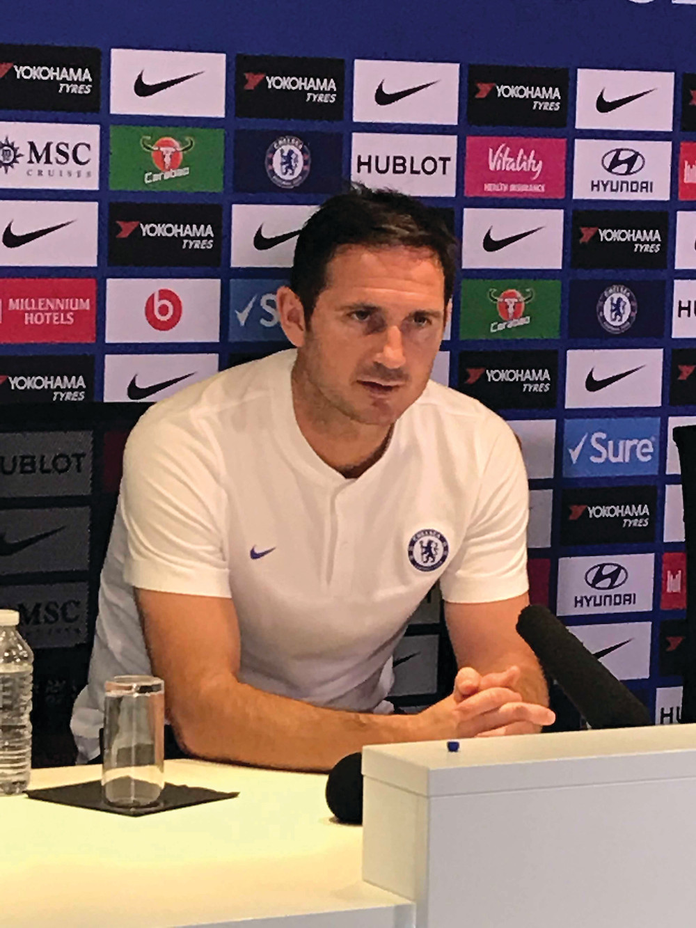 Frank Lampard Photo by Paul Lagan