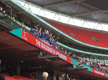 Chelsea fan Baxter turns FA Vase final on its head as Chertsey Town come from behind to beat Cray Va