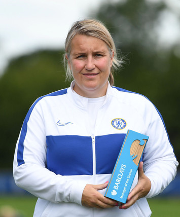 Beth and Emma scoop top season awards - best player and best manager - as if there was any doubt