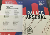 Late double by Gunners sinks Palace on emotional night for Hodgson
