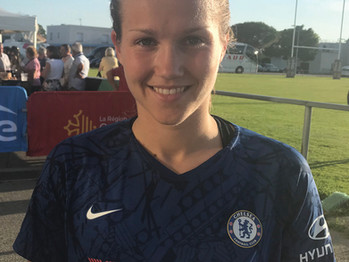 Chelsea's Reiten: I'm just getting to know my new team-mates