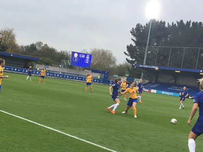 England brace, a Ji and Harder raspers sees Chelsea thump dour Everton 4-0 at Kingsmeadow