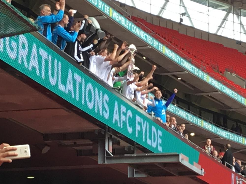 AFC Fylde 1 Leyton Orient 0 Photo by Paul Lagan