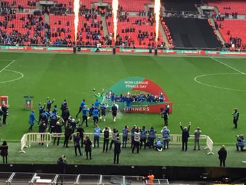 Elliott 'Beast' Nevitt  nabs Wembley hat-trick as Warrington beat Binfield 3-2 in FA Vase thriller
