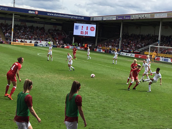 We'll always have Parris - and Scott, just as well as Lionesses struggle to victory