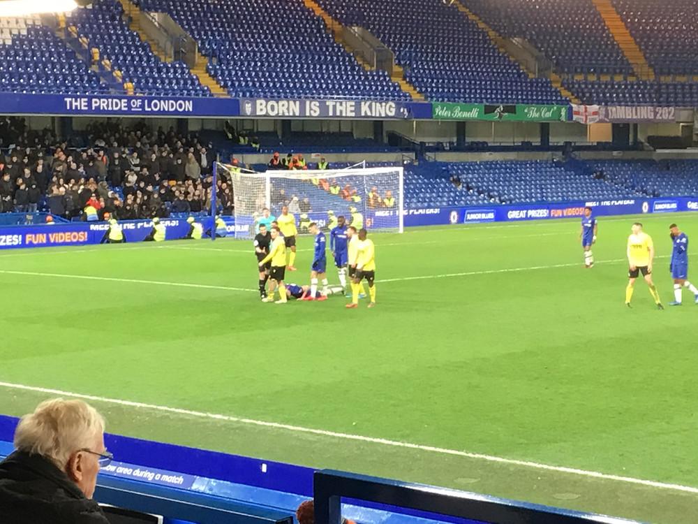 Chelsea U18 1 v Millwall U 18 0 Photo by Paul Lagan