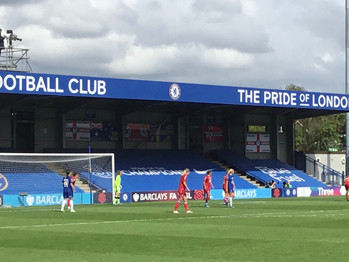 Kirby hits two as Chelsea thrash Reading to win WSL title - again!!