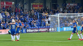 Kerr at the double as Blues get back on track with 4-0 thumping of Everton