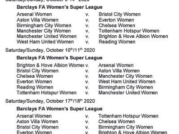 Arsenal, Chelsea Spurs, and West Ham - here are your fixtures for the new season