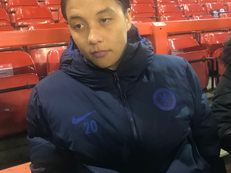 Kerr's double in 2-0 win against Spurs puts Blues within 90 minutes from retaining their WSL title