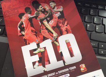 Late rally not enough as Orient beaten by Swindon