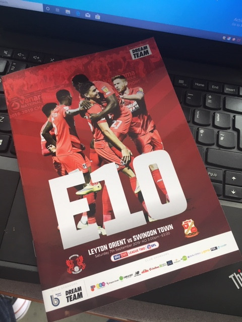 Matchday programme