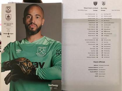 Antonio helps Hammers edge past battling Burnley