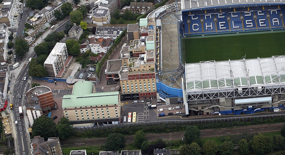 Stamford Bridge from the air Photo: Chelsea FC