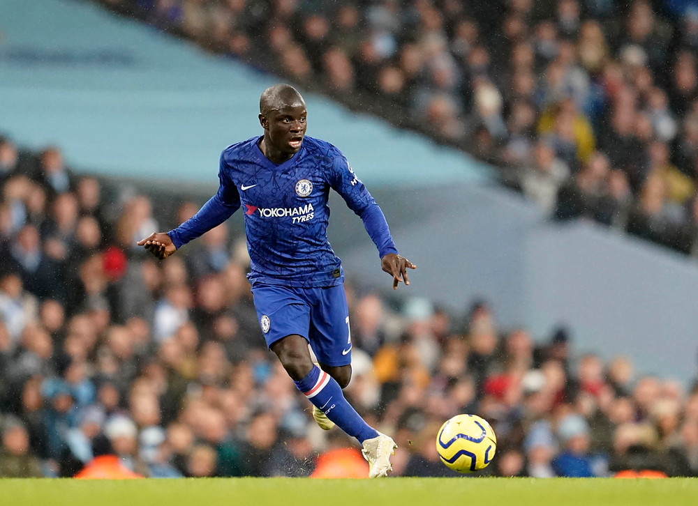 N'Golo Kante Photo: Sean Gosling