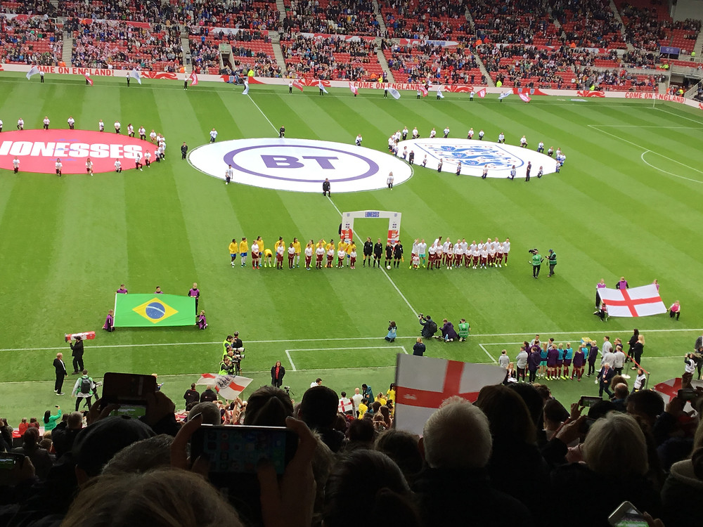 England 1 Brazil 2 Photo by Paul Lgn