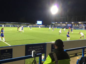 Spence nabs a brace as Blues cruise into 5th round of FA Cup beating London City Lionesses 5-0