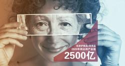 长期的护肤市场,每年增长200亿