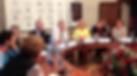 Пресс конференция сообщества спортсменов лыжников по поводу застройки Бутовского леса