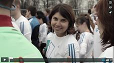 Первый забег - Лужники - 10 апреля 2016