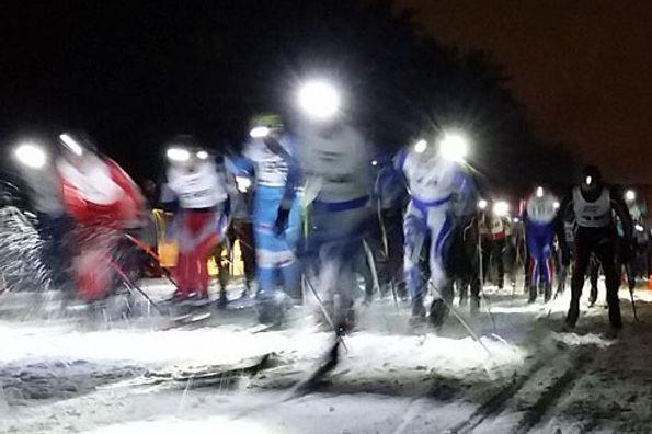 """Ночная лыжная гонка """"Самопреодоление"""""""