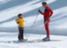 Как стать участников лыжных гонок