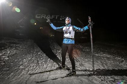 Зимний гром - Ночная гонка (январь 2015)