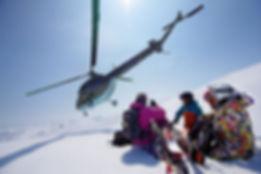 Хели Ски - лыжники на вертолетах