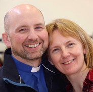 Rev Kingsley with his wife Daphne