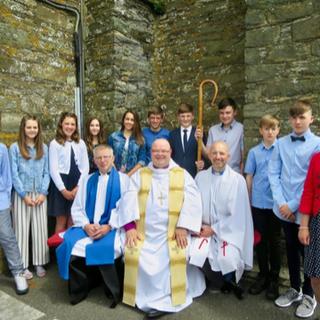 At Kilgarriffe Church
