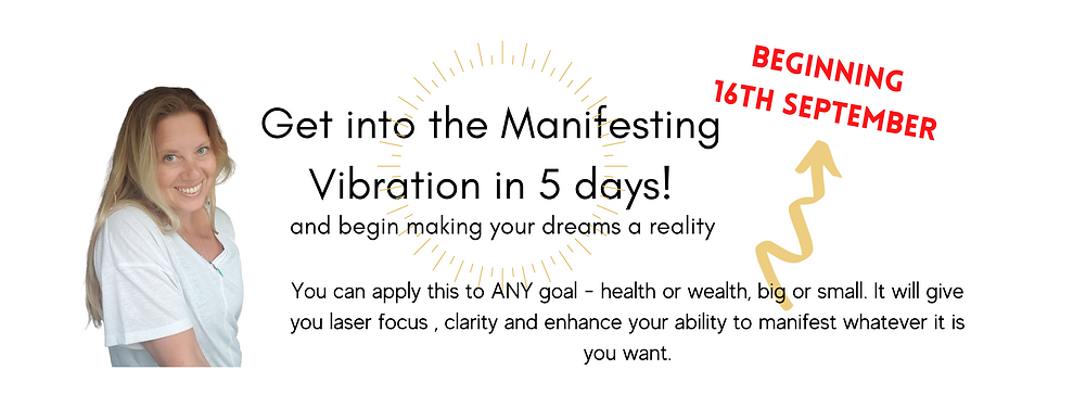 Get into the Manifesting Vibration in 5