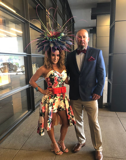 April Hendry at The Kentucky Derby 2018