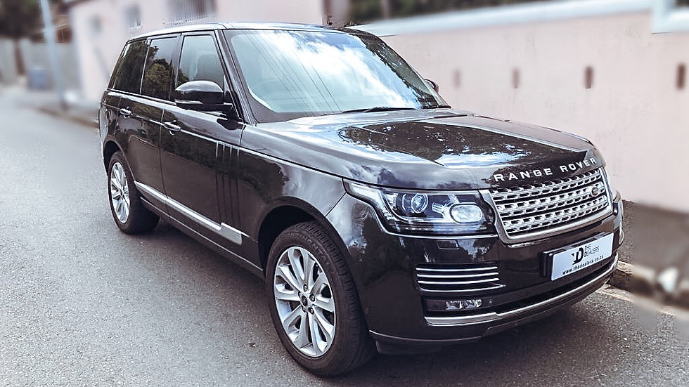 2013 Range Rover Vogue 50 Supercharge