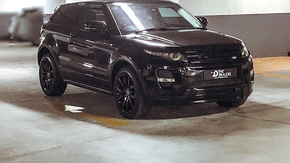 2013 Range Rover Evogue Si 4 Coupe