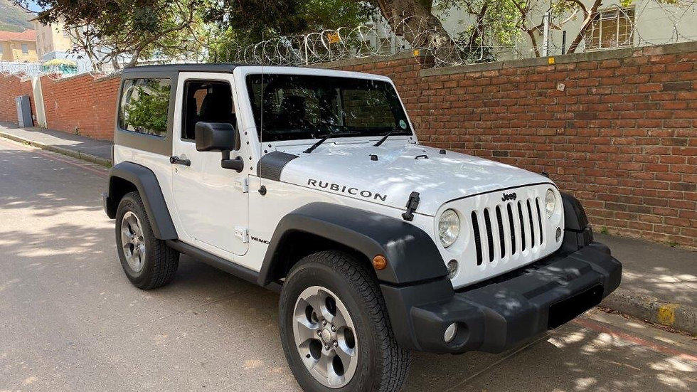 2016 Jeep Wrangler Sahara Limited 3.6 V6 Rubicon