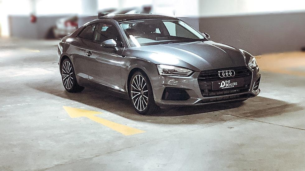 2018 Audi A5 20 TFSI Black Pack Auto
