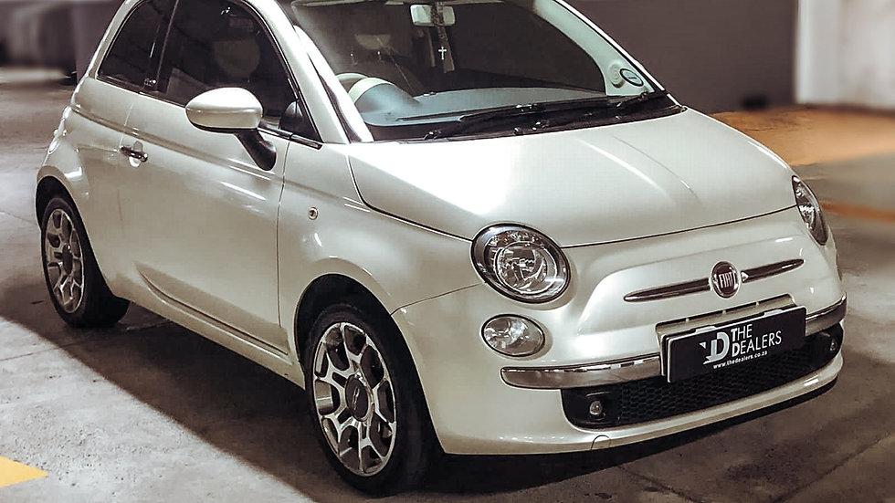 2012 Fiat 500 Cabriolet 1,4 Auto