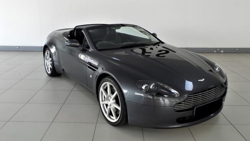 2007 Aston Martin Vantage Convertible