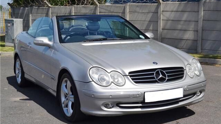 2003 Mercedes Benz CLK 500