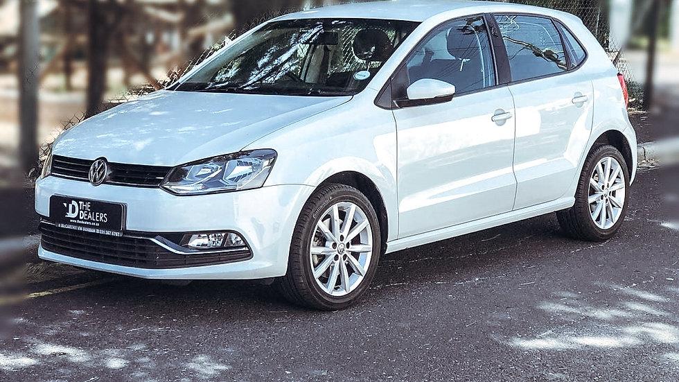 2016 VW Polo 1,2 TFSI man Highline