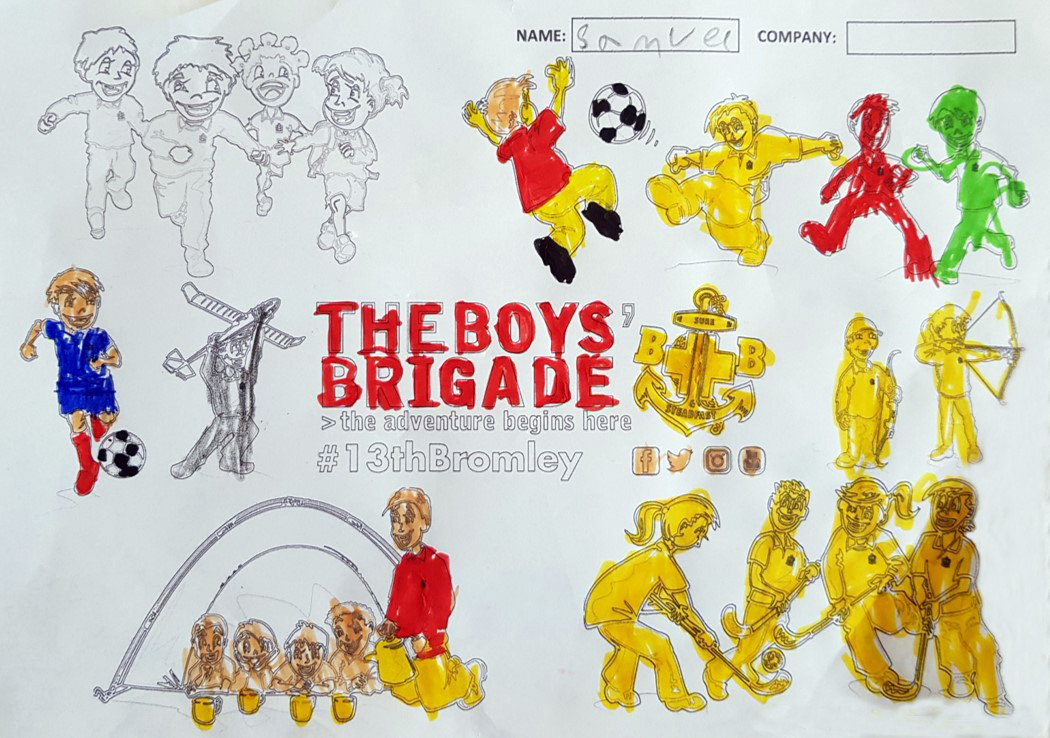 13th Bromley Boys' Brigade Colouring 9.j