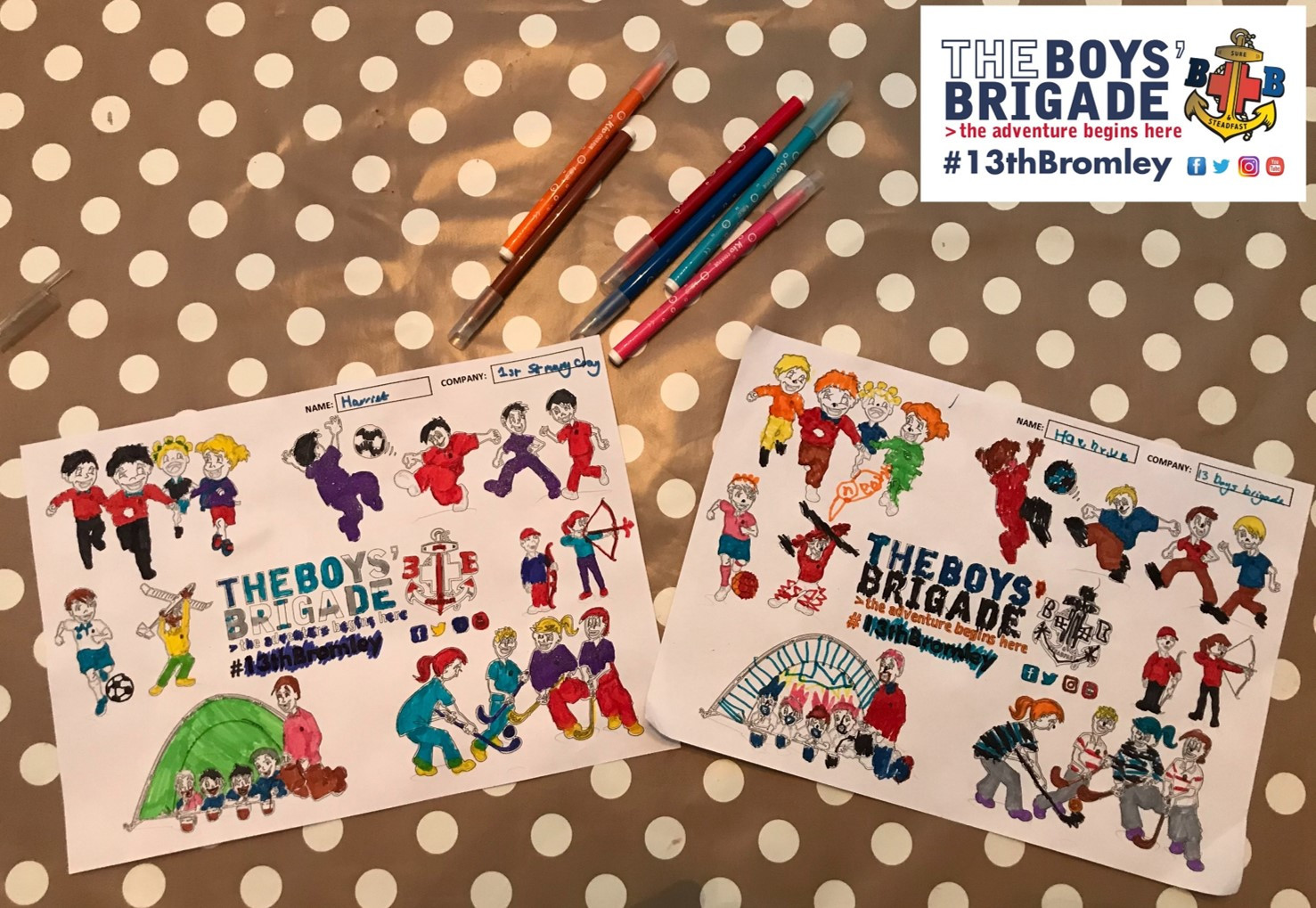 13th Bromley Boys' Brigade Colouring 7.j