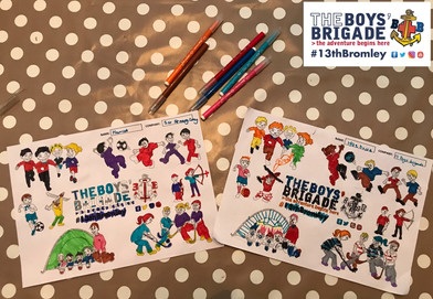 13th Bromley Boys' Brigade Colouring 7.j