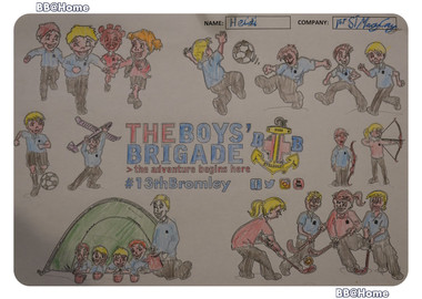 13th Bromley Boys' Brigade Colouring 3.j