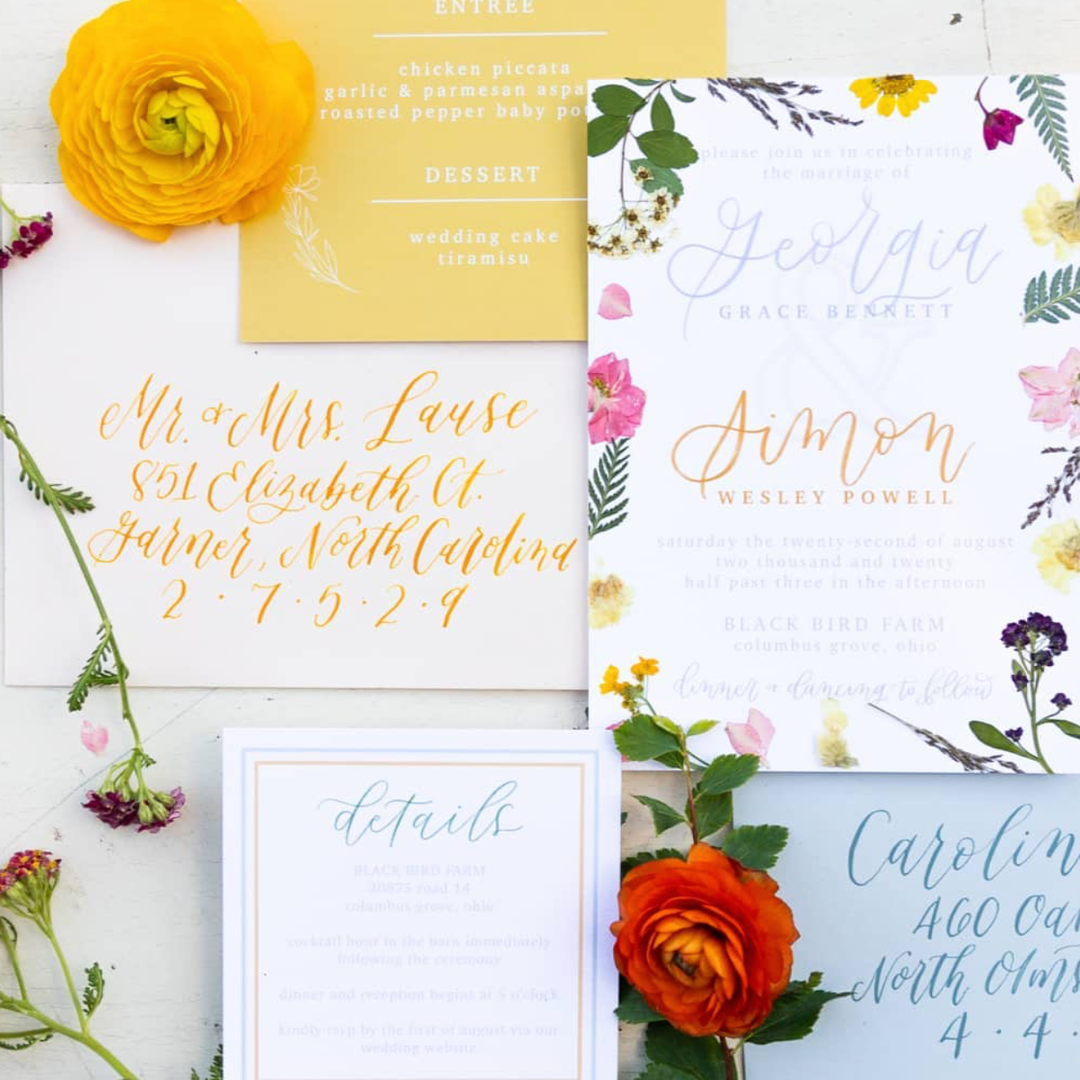 blog modern wedding stationery ohio