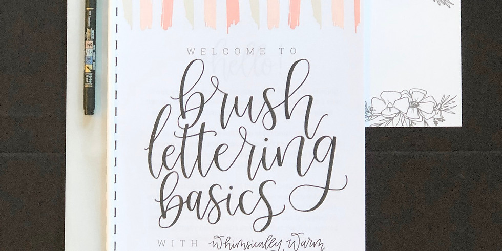 Brush Lettering Basics in Wapak