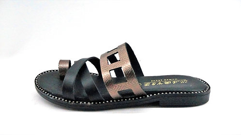 Greek Sandal Black