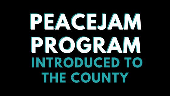 PeaceJam Program Introduced to the County